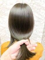 メーヴェ(Mowen)グレージュ×透明感カラー×オリーブグレージュ×髪質改善