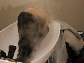 ムート ヘアー デザイン(mut.hair design)の写真/毎日頑張る自分へのご褒美☆【mut.hair design】のスパで手に入れたツヤ髪と癒しの時間を楽しんで♪