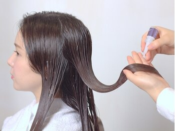 サエラデモードの写真/ダメージ髪にたっぷり栄養を補給♪髪質・お悩みに合わせて組合せができるワンランク上のトリートメントを☆