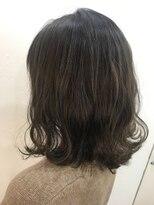 ヘアーアンドメイク ルシア 梅田茶屋町店(hair and make lucia)グレージュロブ
