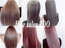 ヘアサロン ズー(Hair Salon Zoo)の雰囲気(関西初♪日本一仕入れ値の高いシールエクステ♪)