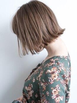ラグーナ 津田沼(LAGUNA)の写真/シンプルスタイルで貴方を最大限可愛く見せる♪クセや毛量を調節して伸びてもまとまりやすい髪に【津田沼】