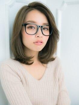 ヘアーサロン ブラァー エ コモ マイ(HAIR SALON BRAH e komo mai)の写真/透明感溢れる理想の髪色へ!イメチェンにおすすめ☆イルミナカラーorスロウカラーあなたはどっちを選ぶ?