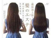 luludi×美髪クリニックGINZA 究極の美髪ケアが実現!!求めてる髪質への導いていきます[銀座/髪質改善]