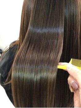 ヘアエステ ハート 池袋東口店(Hair esthe HAAAT)の写真/世界に認められたOLAPLEX使用の最高級メニュー登場!毛髪整形で今まで解決できなかった癖やダメージを解消