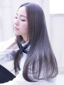 アレクサンドルオブカラーズカナザワ(ALEXANDRE OF COLORS KANAZAWA)の写真/【ハホニコトリートメント取扱!】あなたの髪質に合わせたヘアケアで、憧れのサラ艶hairを叶えて─。