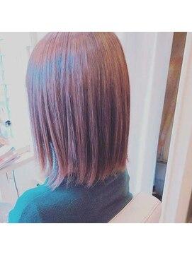 アイル ヘアー(Aile Hair)【Aile Hair】さらさらストレート★イルミナカラー★30代