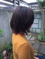 テントヘアー(tent hair)ぬれ感ボブ
