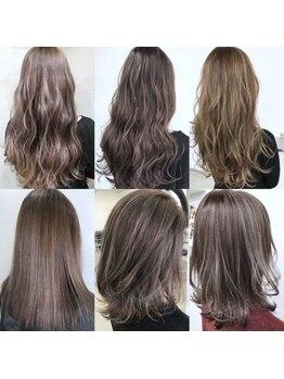 ヘアアンドビューティー クローバー(Hair&Beauty Clover)の写真/経験・知識が豊富なスペシャリスト達による≪魔法のカラーテクニック≫が人気★今しかできない旬カラーを♪