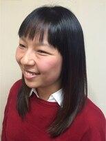 桜デコ(DECO)ツヤサラストレートヘア