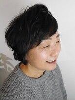 ヘアメイク オブジェ(hair make objet)フワフワショート