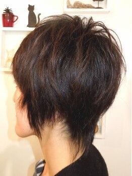 ホリーホック(Holly Hock)の写真/カットに定評あり!カットが良いからパーマも縮毛もセットがキマる!新しい髪型・髪の悩み何でも聞きます☆