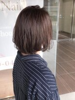 ヘアメイク シュシュ(Hair make chou chou)ナチュラルボブスタイル【chou-chou 北林夏実】