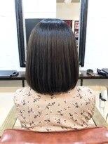 エトネ ヘアーサロン 仙台駅前(eTONe hair salon)【癖毛の方にオススメ】サラサラストレートボブ