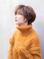 ヘアアンドエステ ヒロイン 西麻布本店(Hair&Esthe HIROIN)【冬ボブ】モダンレトロなミセスショート