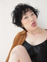 【morio 原宿】ひし形シルエット 黒髪ショートボブ