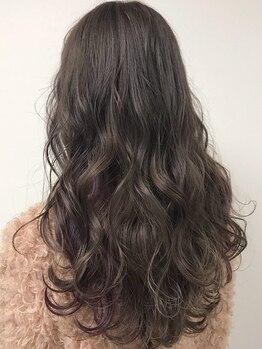 ピーシーズヘアー シェリー 天王寺店(PIECES hair cherie)の写真/[天王寺・阿倍野/カット+カラー¥4000~]話題のイルミナやケアブリーチで透け感カラー&低ダメージを叶える♪