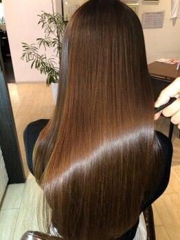 ブルーフィンシセロ(Blue Fin cicero)の写真/あなたの髪のお悩みや要望を聞かせてください!!人によって異なるくせ毛や髪質を見極め、最適な施術をご提案