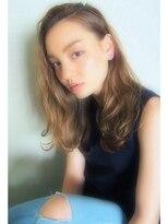 【RIMA】HARUKI 外国人風☆かきあげたラフな毛束感とAsh Beige