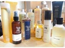 クリフ ヘアーアンドワークス(CLeF hair&works)の雰囲気(oggiottoやN.などのサロン専売商品も数多く取り扱っております。)