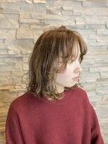 ヘアーチェリーコーク ランプ(HAIR CHERRY COKE Lamp)【新開】レイヤースタイル×ミルクティーベージュ