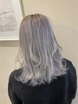 オーブ ヘアー テオ 秋田由利本荘梵天店(AUBE HAIR theo)【AUBE HAIR】ホワイトグレージュ