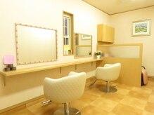 美容室 みるくの雰囲気(お一人様ずつの施術時間なので、ベビーカーや車椅子でも◎)
