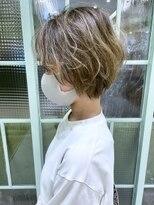 モリオフロムロンドンココサ 下通店(morio)【morio下通】癖毛を生かしたゆるふわショート