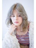 ヴィークス ヘア(vicus hair)ウルフレイヤー×ブルーアッシュ by 井上瑛絵