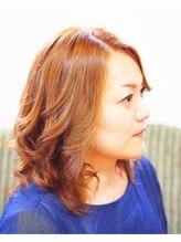 美容室ピース 笹沖店【新規】♪極潤カラー♪ふんわりカール♪ 32,000円→18,000円