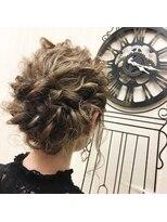 ヘアセットサロン アトリエ チャイ(Hair set salon atelier CHAI)ゆるもこアップ