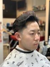 バーバーオブアニュースタイルワンダーセカンド(Barber of a NEWSTA eL WONDER 2ND)under cut