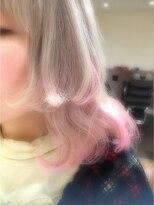 ミエルヘアーアンドスパ(miel hair&spa)◆miel◆ホワイトベージュ × ベビーピンク
