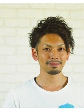 メンズ レオ 天六店(men's LEO)【スパイラルパーマ】 セクシーウエーブてきな~パーマ