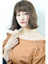 ボヌール 西梅田店(Bonheur)【女性stylist杉崎】大人カジュアル*人気の外ハネボブ