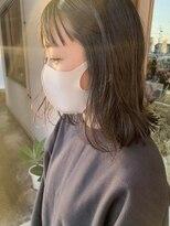 マイ ヘア デザイン(MY hair design)黒髪ワイドバングレイヤー