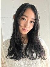 チェルシー(CHELSEA)学生限定 黒髪でパーマがかかりにくい髪に大きめのパーマ