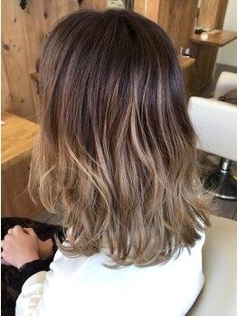 コネクトヘア(CONEKT hair)の写真/【毎日扱いやすいスタイルに…♪】丁寧なカウンセリングと骨格や髪質に合わせたカット技術が魅力◎