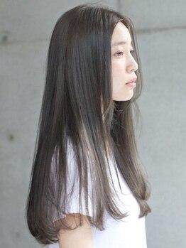 アジーオ(agio)の写真/『質感チェンジの縮毛矯正』が人気♪硬い髪⇒柔らかい髪♪柔らかい髪⇒ハリのある髪☆思い通りの髪質に♪