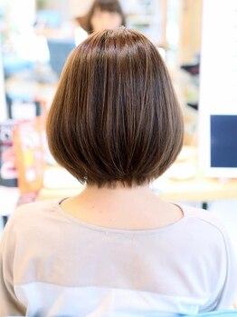 リビーチ ヘア リゾート(Rebeach hair resort)の写真/話題沸騰中!【髪質改善トリートメント】髪への負担は最小限に♪毛先まとまる、自然なサラサラストレート☆