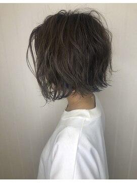 ソース ヘアアトリエ 梅田(Source hair atelier)【SOURCE】インナーデニムカラー