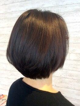 ディーアールラズリー(DR LAZULI)の写真/【上戸祭】低刺激&色持ち◎カラー後のアフタートリートメント付きだから、美髪が長く持つのが嬉しい♪