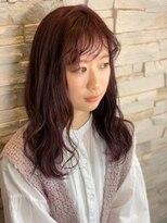ヘアーチェリーコーク ランプ(HAIR CHERRY COKE Lamp)【新開】ベイビーピンク×モテカラー