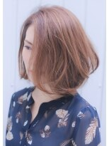 【Wish Hair】長澤まさみ風大人女性切りっぱなしボブ