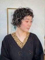 オブヘアージユウガオカ(Of HAIR Jiyugaoka)外国人風カーリーパーマ20代30代40代