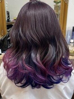 """ニコカ(Nicoca)の写真/大人気アディクシー・イルミナカラーを取り扱い☆""""光発色×透明感""""美しい髪を実現!理想のカラーが叶う♪"""