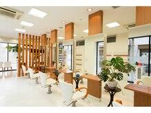 クリック ヘアースタジオ 亀有店(CLIC Hairstudio)の雰囲気(開放的で、リラックスできる空間でゆったりしていただけます♪)