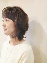 ヘア キィー(hair key)フンワリ大人ウルフ