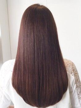 ヘアー コパイン(HAIR COPAIN)の写真/【熊本初◇美髪エステ】縮毛やストレートパーマでは改善出来ないお悩みに。素髪から整った艶髪を叶えます。