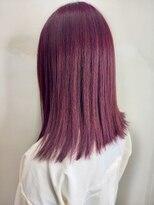 ソース ヘア アトリエ 京橋(Source hair atelier)ピンクバイオレット